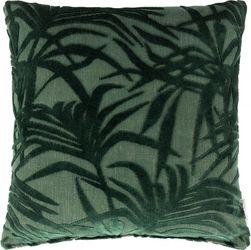 Kussen Miami Palm Tree  - Groen - 45 x 45 cm - Zuiver